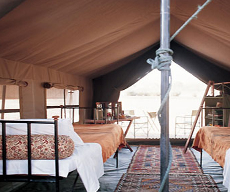 Uncharted Mobile Camp, Botswana