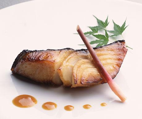 Broiled black cod