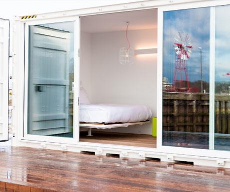 Container hotel, Antwerp