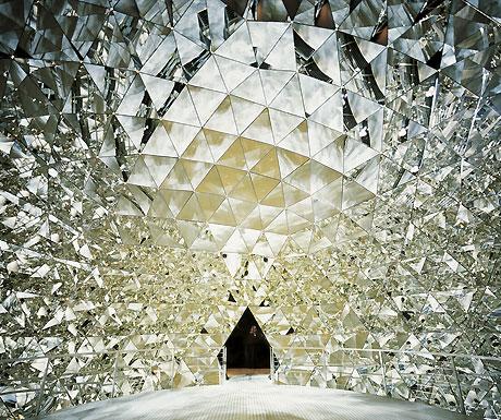 Swarovski crystal dome