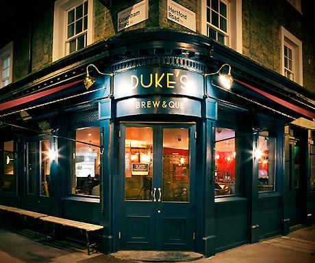 Duke's Brew and Que, De Beauvoir Town