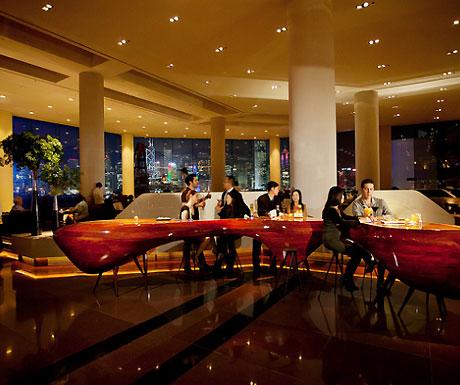 Intercontinental Hong Kong lobby