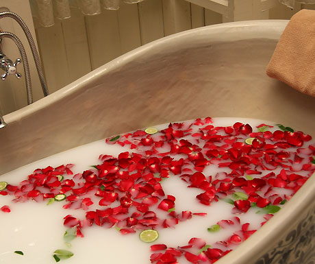 Petals in the bath