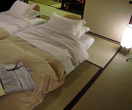 Ryokan beds