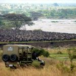 New luxury base from which to watch the incredible wildebeest migration river crossings