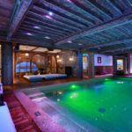 Top 5 luxury chalets with unique swimming pools