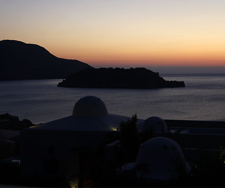 Domes of Elounda sunrise
