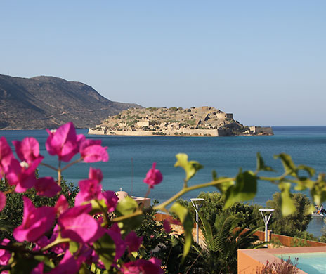 Domes of Elounda view