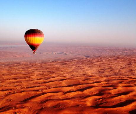 Dubai hot air ballooning