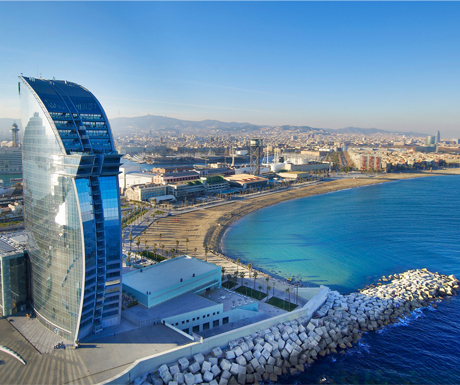 Top 10 luxury hotels in barcelona for Great luxury hotels