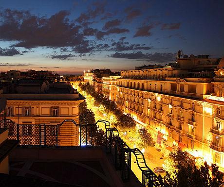 Roman Penthouse view