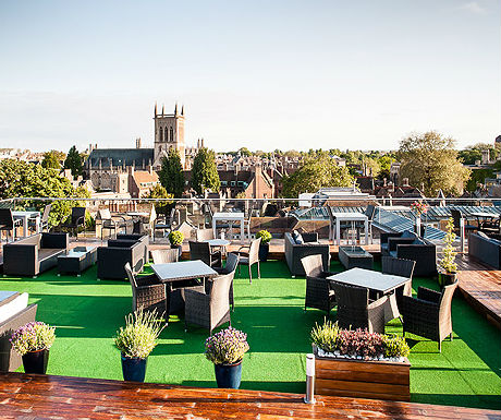 The Varsity Roof Terrace, Cambridge