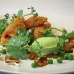 Recipe of the week: Crispy ham hock with pea and mint mousse