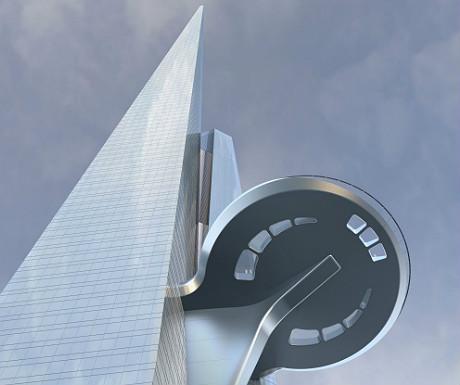 Kingdom Tower sky terrace