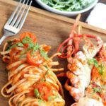 Recipe of the week: Lobster and prawn with arabiatta linguine