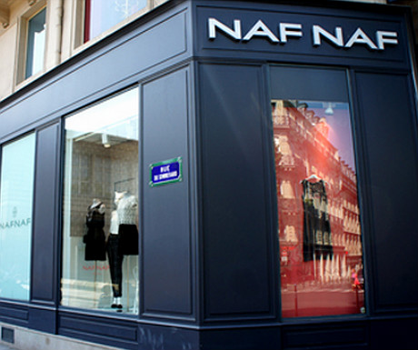 Naf Naf on Boulevard Saint Michel