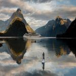 Photograph of the week: Paddle boarding through the Milford Sound