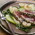 Recipe of the week: Seared sesame tuna with lemongrass and lychee coulis