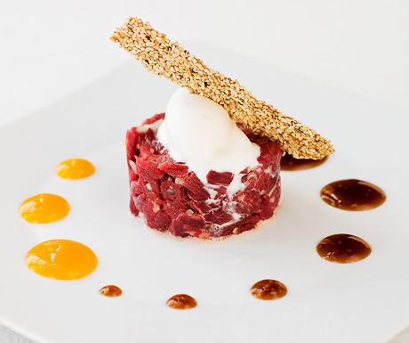 Recipe of the week: Fresh tuna tartar with wasabi ice cream and soya ...