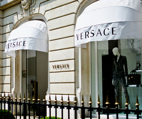 Versace on Avenue Montaigne