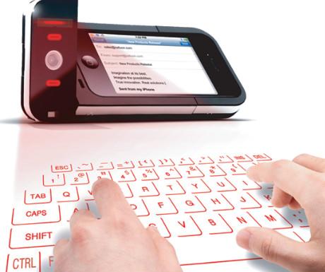 Celluon keyboard projector