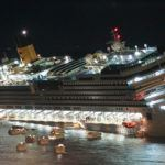 Timelapse footage of the Costa Concordia salvage operation