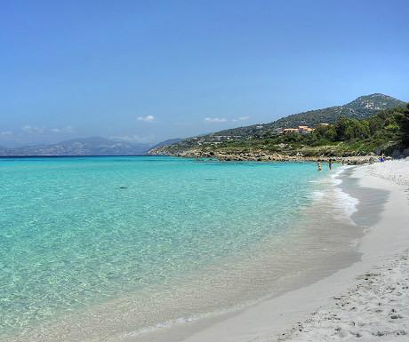 L'Ile Rousse beach
