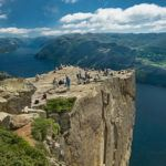 Hiking to Preikestolen, Norway