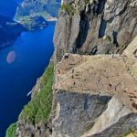 Impressive panorama of Preikestolen, Norway