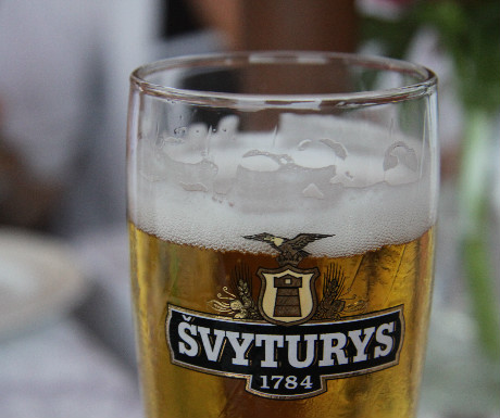 Svyturys Lithuanian beer