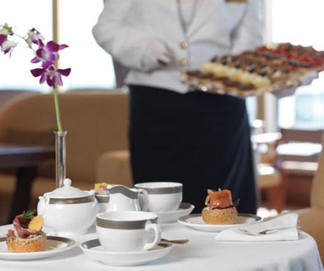 Cunard afternoon tea