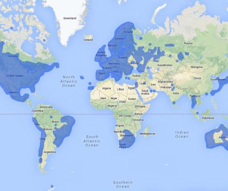 Google StreetView map