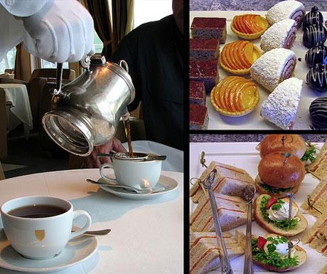 Seabourn afternoon tea