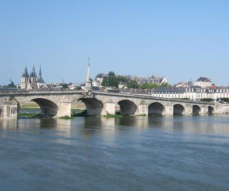 Along the river in Loire