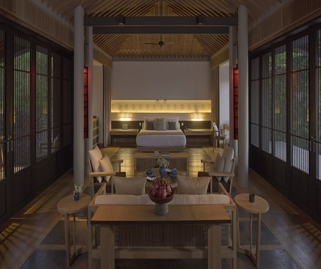 Amanoi Nha Trang Pool Pavilion interior