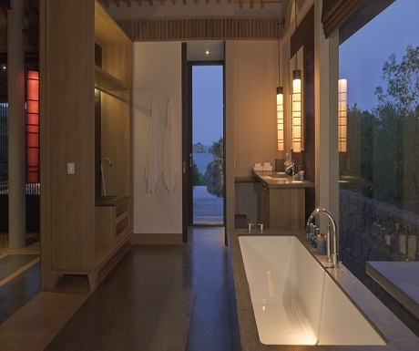 Amanoi Nha Trang Vietnam Pool Pavilion bathroom