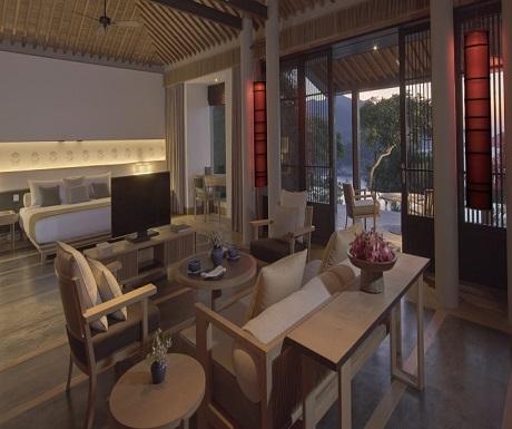 Amanoi Nha Trang Vietnam Pool Pavilion interior