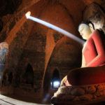 Photograph of the week: Shaft of light on a 1,000 year old Buddha in Burma