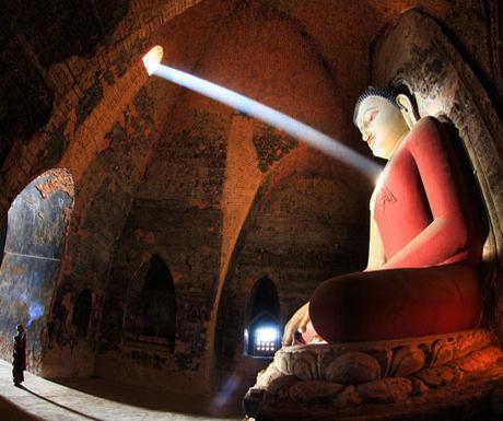 1,000 year old Buddha in Burma