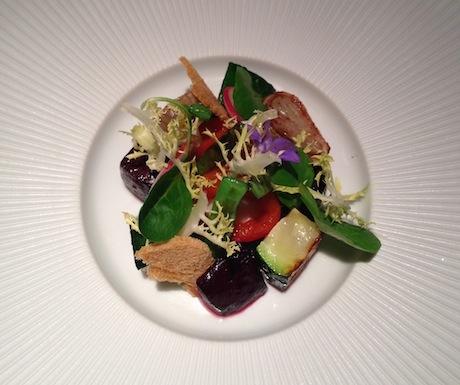 Cinc Sentits salad