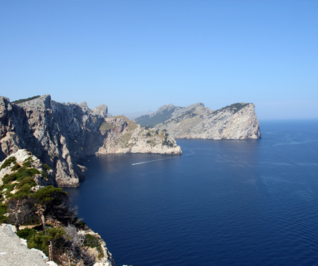 Coastal views of Mallorca