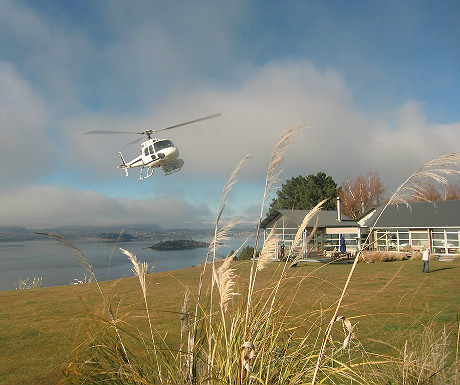 Helicopter in NZ