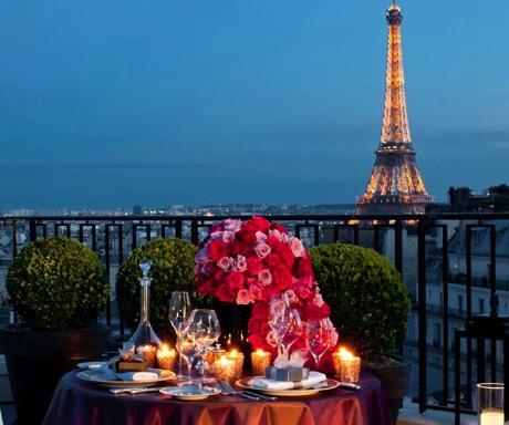 Penthouse Four Seasons Paris George V