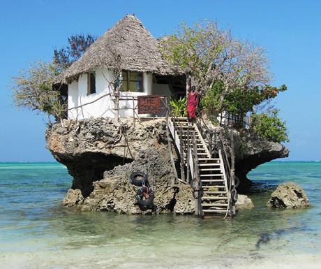Rock Island Restaurant, Zanzibar