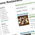 5 tips to using TripAdvisor to find a restaurant in Italy