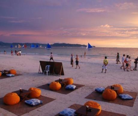 White Beach, Borocay Island, Philippines