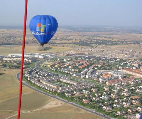 Madrid hot air ballooning