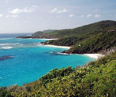 Mustique beaches