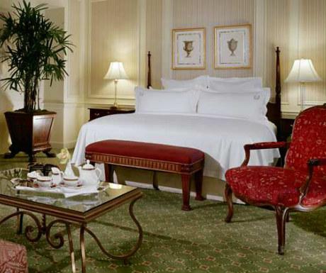 Waldorf Astoria bedroom