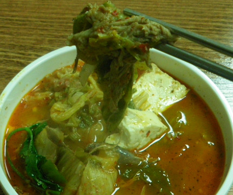 Dog meat soup